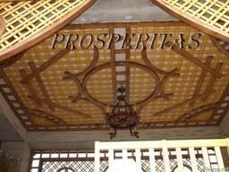 Декоративные панели от Prosperitas (беседки, террасы, качели