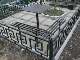 Оградки кресты стол решетки перила ворота забор навесы ковка