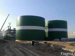 Резервуар 1000м3, 2000м.куб., емкость 3000м3 из нержавейки