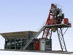 Стационарный бетонный завод Constmash Компакт 60 (60 м3/час)