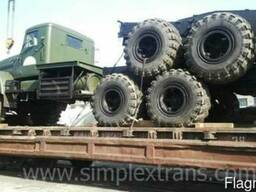 Transport of cargo from Bulgaria to CIS countries.