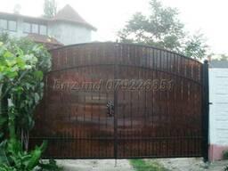 Ворота решетки перила заборы навесы Цены фото Кишинев