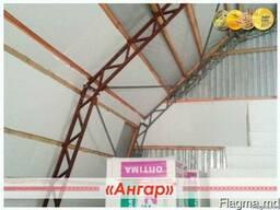 Ангар для подсобного помещения и ремонта техники. СТО - фото 3