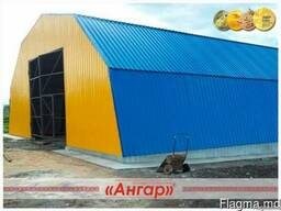 Ангары / склады / цеха / СТО/ зернохранилища / спортивные пл - фото 3
