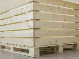 Деревянный контейнер для яблок - фото 2