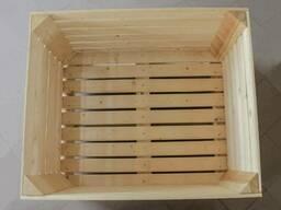 Деревянный контейнер для яблок - фото 3