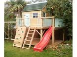 Детская деревянная игровая площадка - фото 1