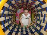 Детский игровой лабиринт, оборудование детской игровой комнат - фото 4