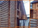 Дома деревянные из сруба, клееного бруса, каркасные дома. - фото 4