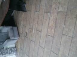 Доска строительная паркетная тротуарная фальшь брус терасная - фото 3