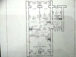 Двухкомнатная квартира, 92 кв. м. - фото 4