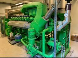 Газопоршневая электростанция Jenbacher J416