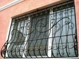 Gratii pentru ferestre din fier forjat Chisinau foto pret - фото 2
