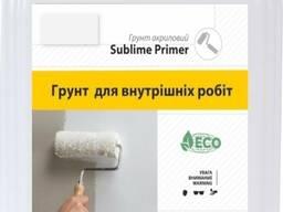 Грунтовка Sublime Primer Euro для внутренних робот, 5 л.