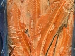 Хребты, брюшки лосося