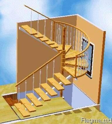 Изготовим и установим металлическую лестницу с перилами
