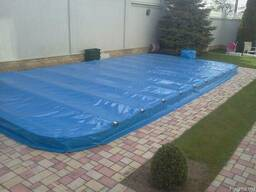 Консервация бассейна, зимняя защита на бассейн, накидка на б - photo 2