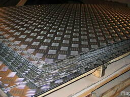 Лист алюминиевый квинтет 1050А (А5Н) 3,0х1500х3000 мм купить - фото 2