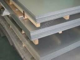 Лист н/ж 4,0 2В PVC AISI 304 матов.