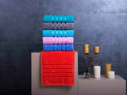 Махровые, вафельные, велюровые и бамбуковые полотенца