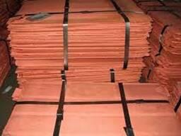 Медь Катодная пластины 99,97-99,99% класс А