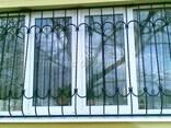 Металлические решетки для окон . готовые решения недорого. - фото 2