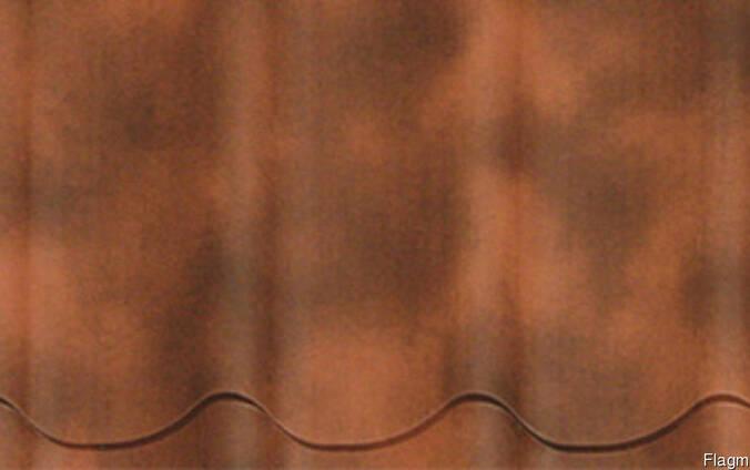 Металлочерепица Arcelor Полиэстер Ceramic