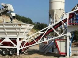 Мобильный бетонный завод Constmach Mobile 100 (100 м3/час)
