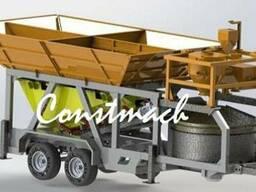 Мобильный мини бетонный завод Constmach Mobicom 60 м3/час