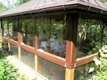 Мягкие окна и перегородки из пвх ткани (тент) - фото 2