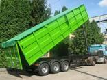Накидка на самосвал, тент на грузовик, накидка на зерновоз - photo 4