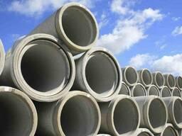Оборудование для производства бетонных труб, колец. новое, БУ