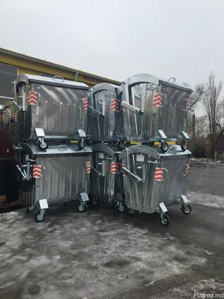 Оцинкованный контейнер, container galvanizet 1100 litre