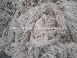 Отходы волокна, пряжи, текстиля состав хлопок, полиэфир