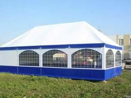 Палатка для праздника, выставки или другого мероприятия.