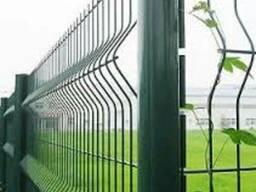 Панельный сварной забор, сетка оцинкованная, ограждения - фото 2