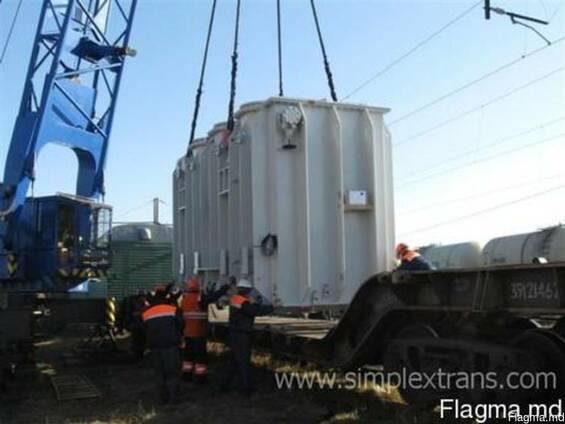 Перевозка трансформаторов, дизельных генераторов, роторов, с