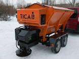 Пескоразбрасыватель прицепной РПС-1500 TICAB комунальный - photo 3