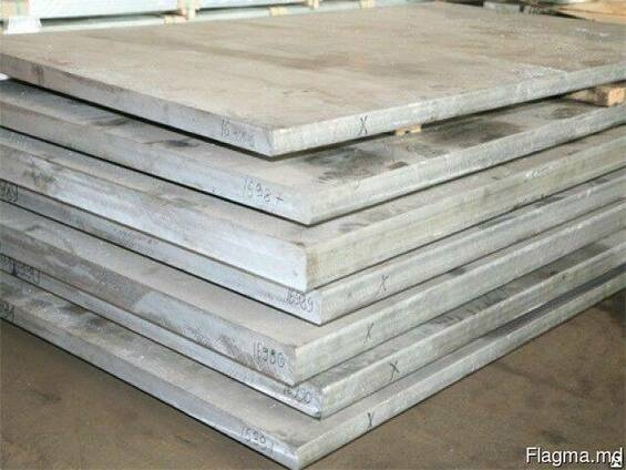 Плита алюминиевая 5083(АМГ5) 35х1520х3020 мм купить