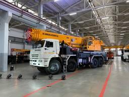Поставка и продажа новых автокранов моделей Ивановец в Молдове