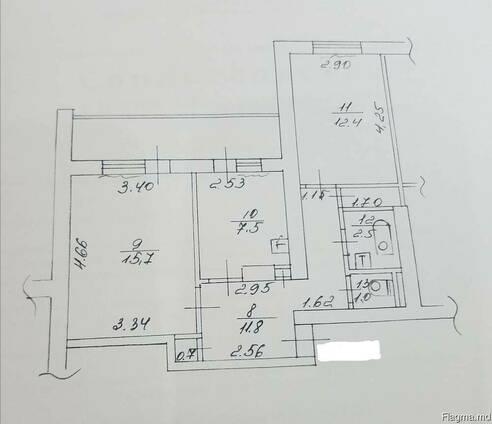 Продается двухкомнатная квартира Чешка в Центре Тирасполя