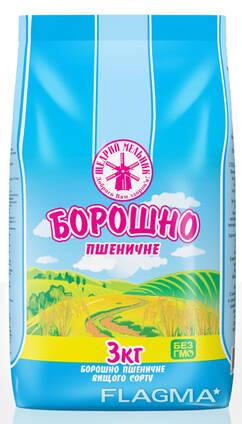Продам муку пшеничную первого и высшего сорта от производителя Украины