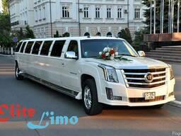 """Прокат лимузинов для свадебных торжеств от """"Elitelimo"""""""