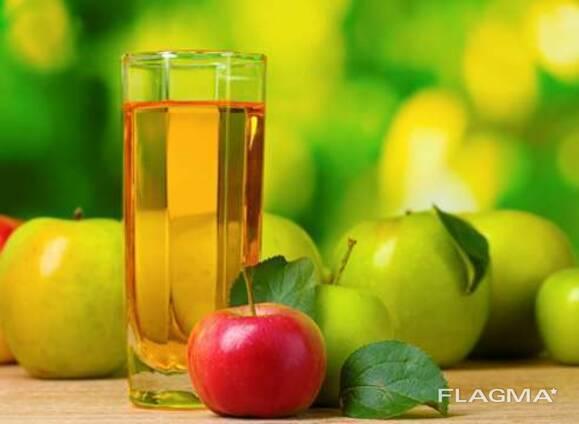 Сок яблочный концентрированный с кислотность не менее 2,8
