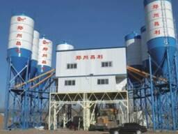 Стационарный бетонный завод HZS240 (240 м3/час).
