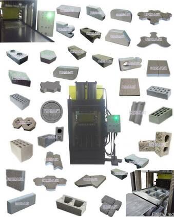 Станок для производства строительных материалов. Ermani-200