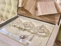 Свадебно-подарочные комплекты пастельного белья