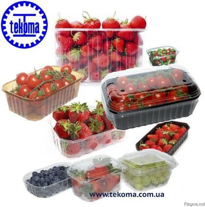 Тара для ягод, Лукошко для клубники, упаковка для клубники