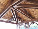 Terase publice. Carporturi, copertine din lemn. - photo 7