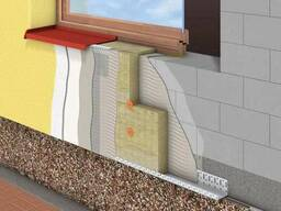 Утепление фасадов минеральной (базальтовой) ватой